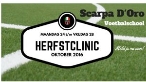 Voetbalclinic Voetbalschool Scarpa D'Oro