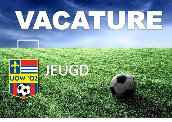 VACATURE:  TRAINER UOW '02 JO15-2!!!!!!
